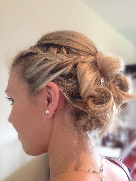 Bridesmaid hair Poole