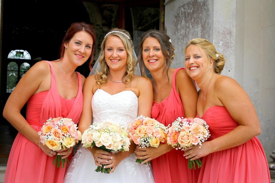 brides-bridesmaid-wedding-hair-dorset