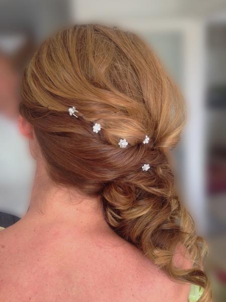 Bridesmaid hair Poole Dorset