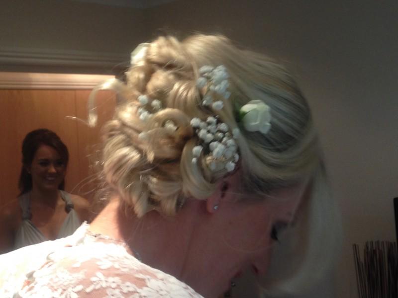 bridal hair dorset