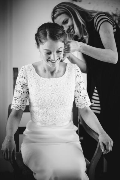 wedding hair in hinton