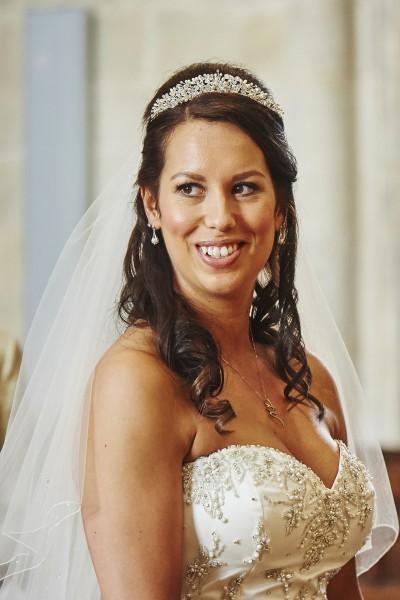 Milton abbas wedding bride