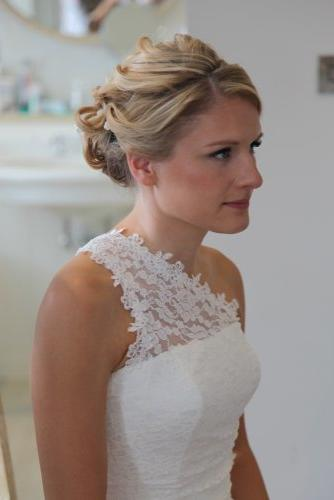 bride hair dorset