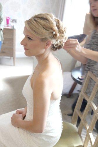 hair for bride in dorset